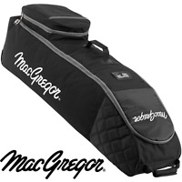 MACGREGOR XL DELUXE WHEELED PADDED GOLF BAG FLIGHT COVER TRAVEL COVER