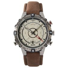 Timex T2N721 Mens Natural Brown Tide Temp Compass Watch