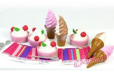 "Sophia's Ice Cream Cones & Frozen Yogurt Set for 18"" Dolls American Girl Food"