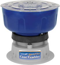 Frankford Arsenal Quick-N-Ez 110V Case Tumbler fast aggressive cleaning reliable