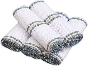 Dish Cloths 100% Cotton for washing up Antibacterial for Hygienic Cleaning cloth
