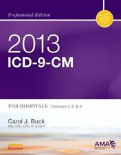 2013 ICD-9-CM for Hospitals, Volumes 1, 2 and 3 Professional Edition, 1e (AMA
