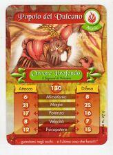 figurina - CARD GORMITI - ATOMIC ORRORE PROFONDO