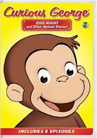 Curious George Zoo Night and Other Animal Stories DVD (025192280627) William H M