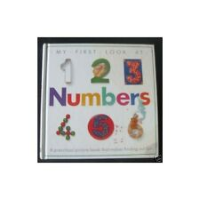 MY FIRST LOOK AT NUMBERS by DORLING KINDERSLEY Preschool Picture in English 1990