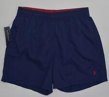 Men's POLO RALPH LAUREN Navy Blue Swimsuit Trunks XXL 2XL NWT NEW 4187791 NICE!!