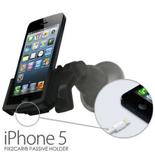 iPhone 5 Car Cradle Passive Holder with Suction Mount - Fix2Car