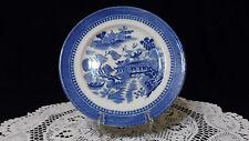 "1905-20 Plate Cauldon "" Ching "" pattern Flow Blue Victorian Edwardian Orientalia"