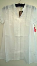 BNWT Beautiful white lace Tunic Size 12