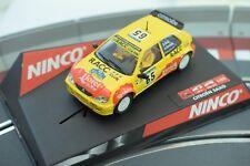 """50266 NINCO 1/32 SLOT CARS CITROEN  SAXO JWRC """" RACC"""" D SOLA"""