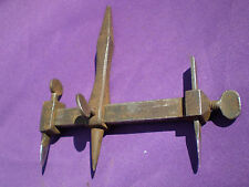 ANTIQUE VINTAGE WYNN & TIMMINS ADJUSTABLE WASHER / CIRCLE / LEATHER CUTTER BIT
