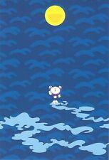"""Takashi Murakami   Kaikai Kiki   """"Moon"""", Postcard, 2001, 17,5 x 12 cm"""