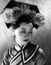 8x10 Print Anna May Wong Costumed Headdress Portrait #AMW10