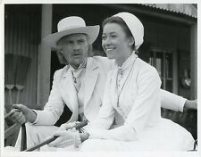 IAN CHARLESON CHERIE LUNGHI PORTRAIT MASTER OF THE GAME ORIG 1984 CBS TV PHOTO