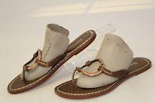 Bernardo MISMATCH size 9 8 M Womens NEW Metallic Flip Flops Sandals Shoes