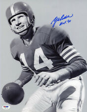 YA Y.A. Tittle SIGNED 11x14 Photo HOF 71 San Francisco 49ers PSA/DNA AUTOGRAPHED