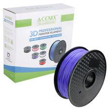 Acenix ® púrpura PLA filamento de impresora 3D 1.75mm 1KG filamento de carrete para impresión 3D