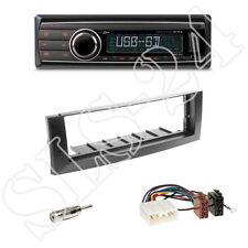 Caliber rmd212 SD Radio + Mitsubishi Colt Cache Gris Foncé + Adaptateur ISO
