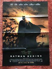 Batman Begins Kinoplakat Poster A1, Christian Bale, Holmes, Liam Neeson, Oldman
