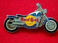 HRC Hard Rock Cafe Stockholm Blue Harley Fat Boy Motorcycle LE1000