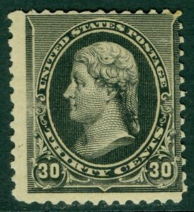 USA : 1890. Scott #228 PO Fresh Mint Never Hinged stamp with PSAG Cert Cat