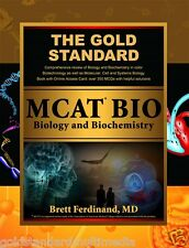 MCAT Biology and Biochemistry Review: Created for the new MCAT by Gold Standard
