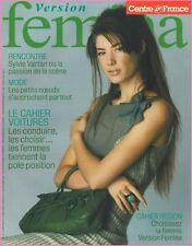 ▬► Version FEMINA - N°130 du 26 Septembre 2004 - Sylvie VARTAN