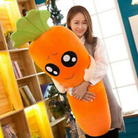 "120cm/47"" Cute Huge Carrot Pillow Big Plush Toy Girl Giant Sleeping Doll Stuffed"