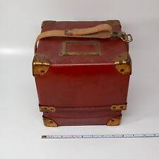 Rare & Unusual Hercules Marine Ship's Chronometer Clock Box Carry Transport Case