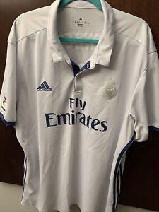 Real Madrid Karim Benzema #9 jersey Adidas 3XL La Liga EUC