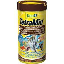 Tetra Min Ml.250 Gr.52 Mangime scaglie fiocchi pesci tropicali acquario Tetramin