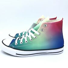 Converse Chuck Taylor All Star Womans Size 9 Psychedelic Hoops High Top Sneakers