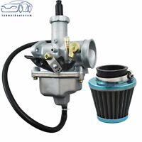 Carburetor W/ Air Filter For Honda CB125 CB125S CG125 XL100S XR100 XR100R Carb