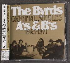 THE BYRDS Original Singles A's & B's 1965-1971 Japan 2-CD 2012 MINT MONO