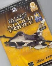 Falcon 4.0 4 Allied Force PC ningún procedimiento de importación con instrucciones en alemán en dvdbox