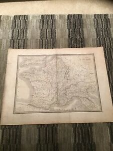 """MAP OF EUROPE 1831 Executed by Lallemand, Caules Map 21.5""""x15.75"""""""