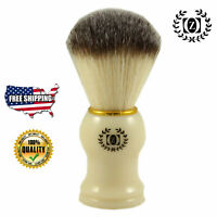 100% PURE SILVER TIP BADGER HAIR SHAVING BRUSH FOR MEN HAND MADE IN USA