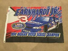 DALE EARNHARDT JR 1998 AC Delco NASCAR Busch Series Champion FLAG NEW IN PACKAGE