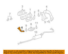 TOYOTA OEM 2000 Tacoma 3.4L-V6 Exhaust System-Front Pipe 1741007040