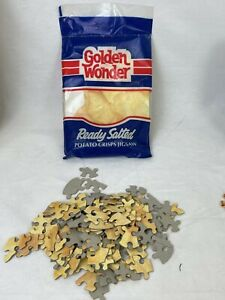 Golden Wonder Ready Salted Potato Chips 120 Piece Jigsaw Puzzle Vintage N145