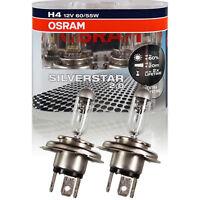 Osram SilverStar 2.0 +60% DUO Pack H4 Halogen 12V 60/55W P43t JAE