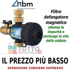 Filtro defangatore magnetico SUPER COMPACT RBM MG1 sotto caldaia 30700500
