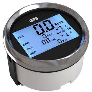 High Quality 85mm GPS Digital Speedometer Odometer Gauge Kit for Car Truck