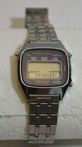 Citizen Seven. Chronograph. Dual Time. Vintage. Retro.
