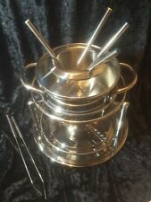 Silit Stainless Steel Fondue 10 Pc Set Made in Germany NEW IN BOX Never Used
