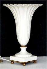 Rare! Vintage Lenox China Regal Collection Art Deco Vase Shaped Table Lamp