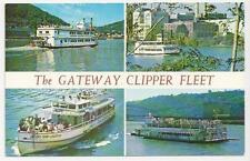 Postcard, USA, The Gateway Clipper Fleet, Pittsburgh, PA