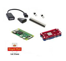 Ultimo Raspberry Pi ZERO W + Essentials Kit + Custodia Gratis