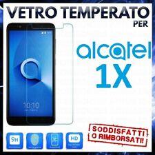 PELLICOLA in VETRO TEMPERATO per ALCATEL 1X 5059A/D/I/J/T/X/Y Protezione 2019