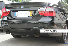 For BMW E90 3 series M tech Rear Diffuser Lip Spliter Twin Exaust Tip